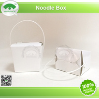 Noodle box,food container,paper box with handle