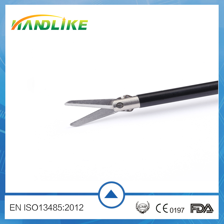 Disposable Medical surgical electric straight/ curved scissors manufacturing Surgical forceps