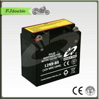 Best 12n9-bs sealed mf motorcycle battery 12v 9ah