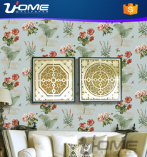 Uhome new pure paper surface Romantic French wallpaper for internial decoration