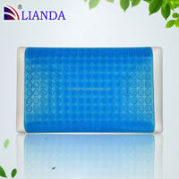wholesale love decorated gel pillow,widely used cooling pillow,women cool gel memory foam pillow
