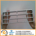 Anti-Skid Sawtooth Grating Serrated Flat Bar Steel walkway floor Grating