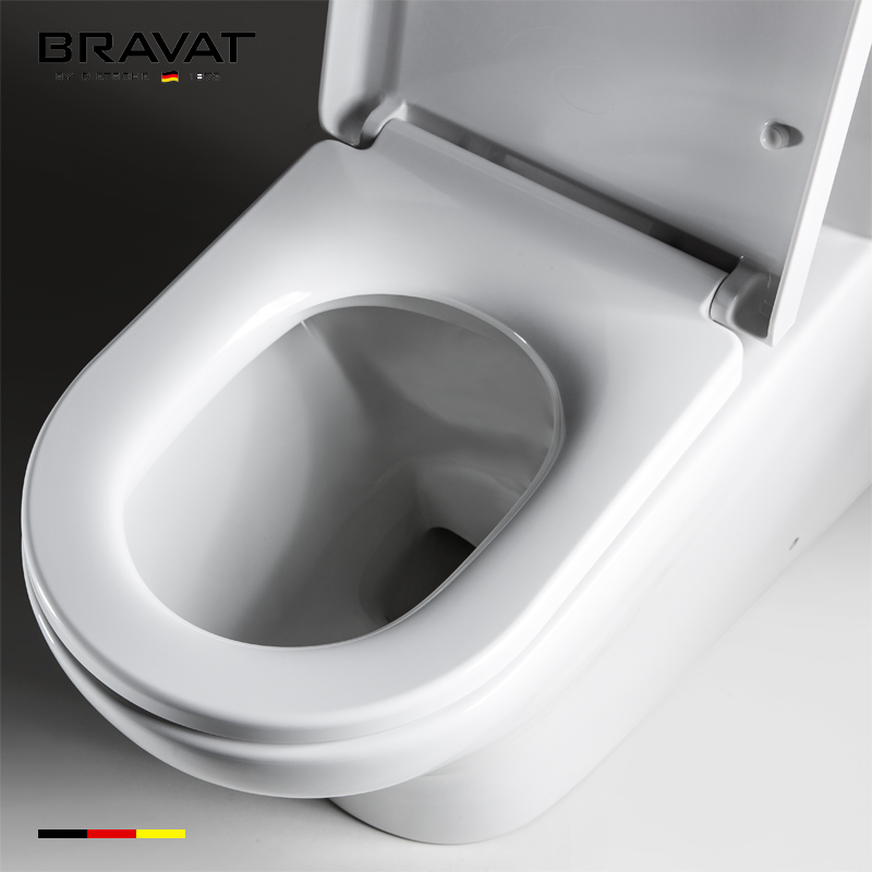 2017 Water saving dual-flush flushing system one piece colored toilet bowl C10253W