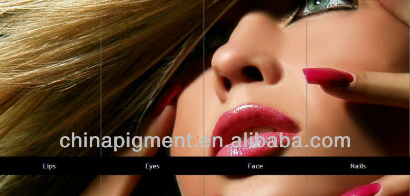 Color Series Pearl Pigment for Cosmetic Application