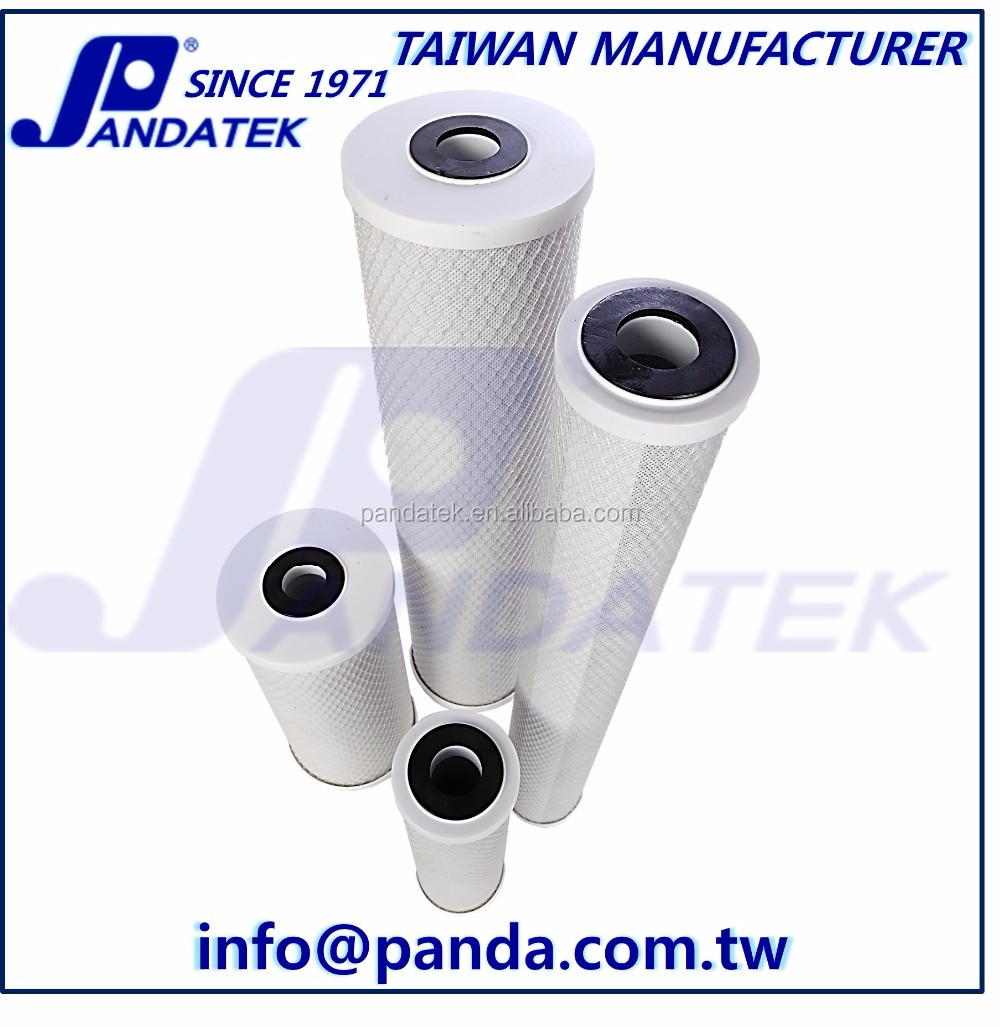 10 inch Activated CTO Household Water Treatment Post Carbon Filter
