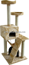 Luxury Wood Style Cat House,Cat Trees,Cat Tree 2015 top selling cat toy