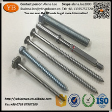 Customized stainless steel double ended screw bolt double sided10.9 ISO9001:2008