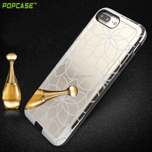PC +TPU protective mirror phone case for apple iphone 7S