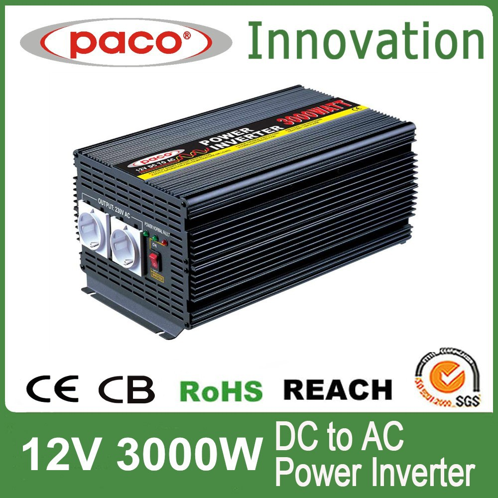 voltage converter 3000w,DC to AC with CE CB ROHS certificate