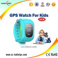 New Arrival GPS Kids Tracker Watch with SMS Tracking Location Function