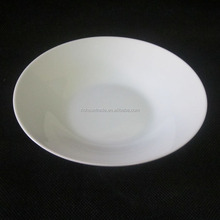 9 inch ceramic porcelain soup plates 23cm white tableware plate