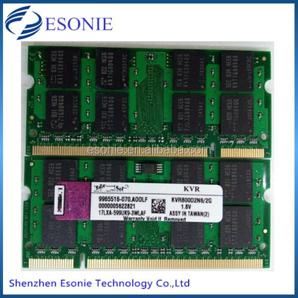 Alibaba china Ram memory ddr2 2gb 667mhz laptop full compatible