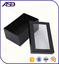 Custom Paper box with clear window cardboard gift boxes
