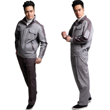 Manufacturer ultimate workwear <strong>safety</strong> engineering jacket workwear uniform industrial uniform 100% cotton construction workwear