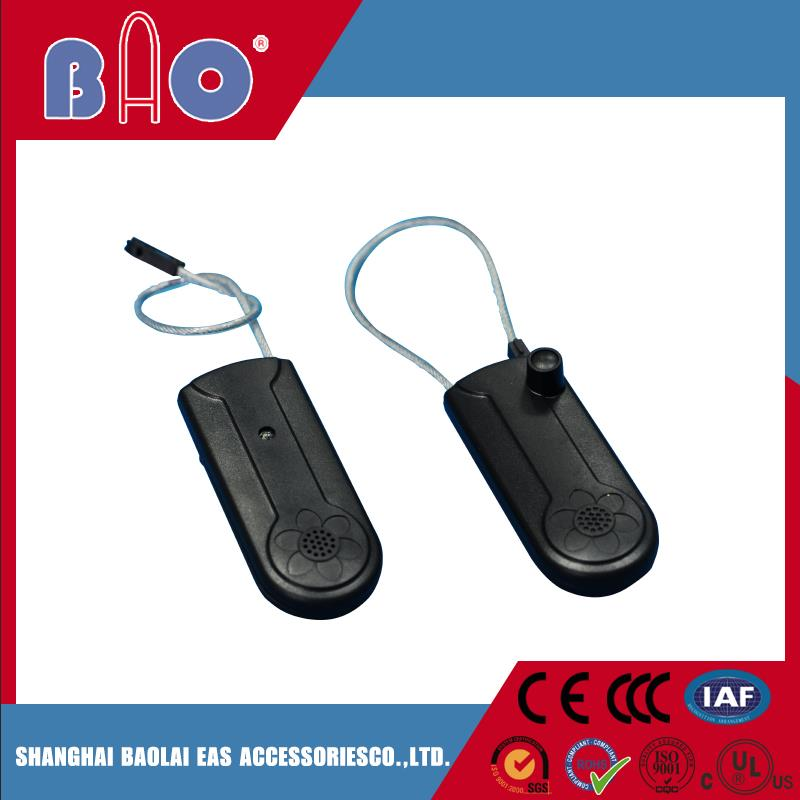 New design hard plastic hang tag for handbag with high quality