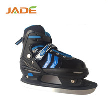 2017 new style ice skate blade shoes for kids ice skate could be adjustable