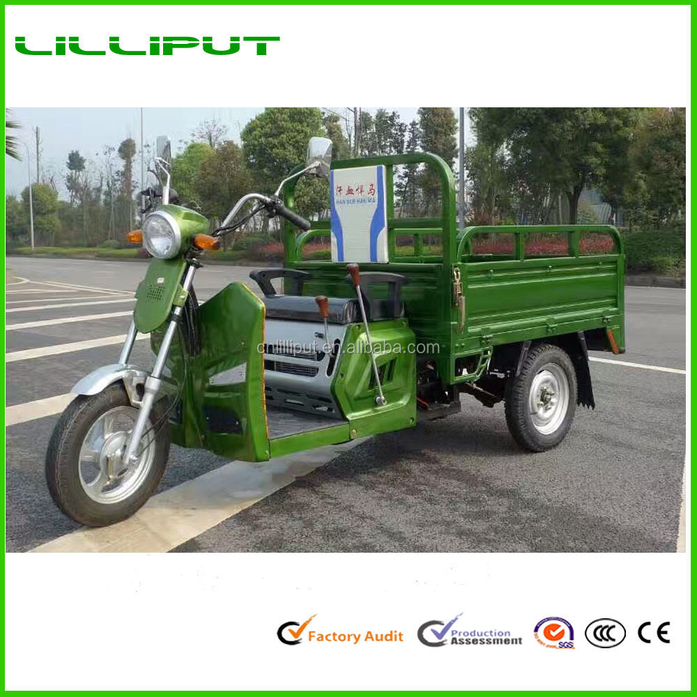 New Export High Quality 48v Battery Electric Cargo Tricycle