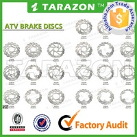 ATV parts brake disk/ disc for Honda Yamaha Suzuki Kawasaki ARCTIC CAT POLARIS CAN AM