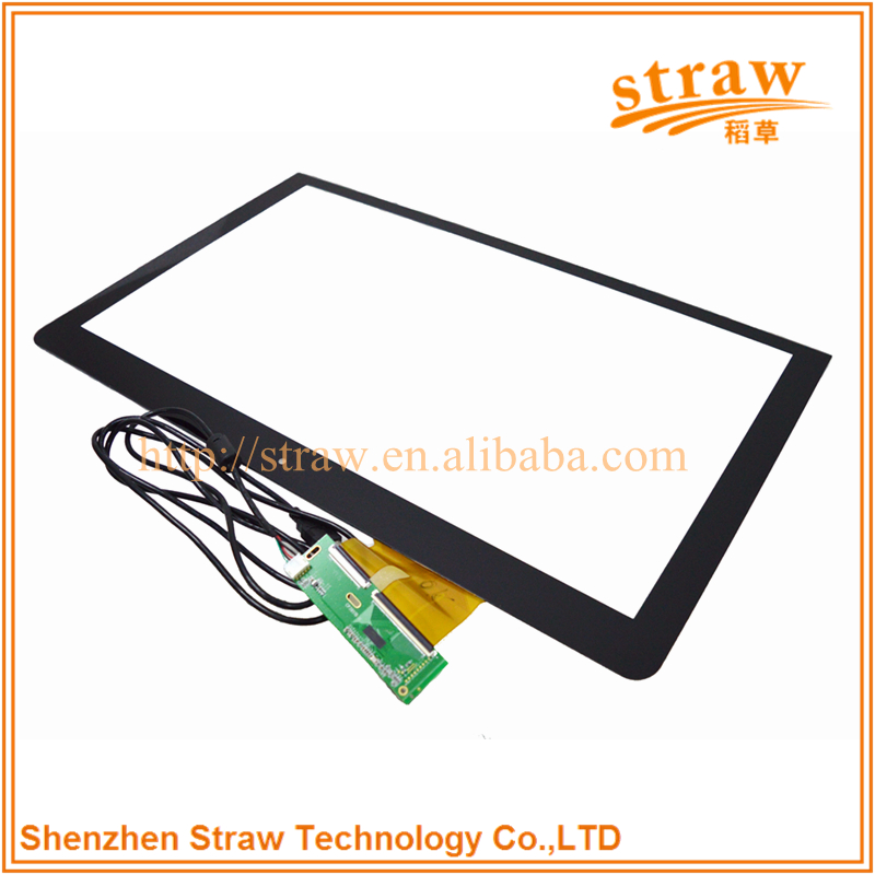High Sensitivity 32 Inch Touch Screen Capacitive Touch Panel For Led TV Smart