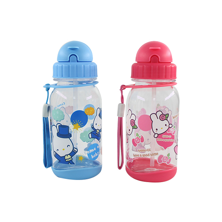 new products 2017 water jug with straw kids straw bottle for school disposable child straw water cup