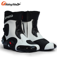 Fashion Designer Style Used Mens Traditional Zipper Biker Motorcycle Boots