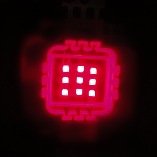 CE approval 10w red led chip 660nm 630nm 620nm