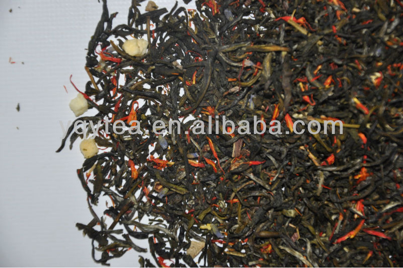 herbal infusion fruit tea peach stawberry green tea