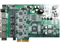 4-CH LAN POE Card with PCIe Slot for PC & IPC
