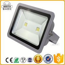 High power IP65 solar power rgb outdoor flood light 100w cob led