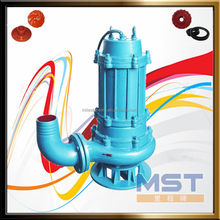 Solid waste water vertical submersible pump
