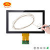 round touch screen manufacturer dvd for toyota land cruiser led wifi advertising screen