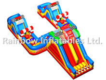 Giant Size Inflatable Race Car Course/Inflatable Car Playground/Inflatable Funcity