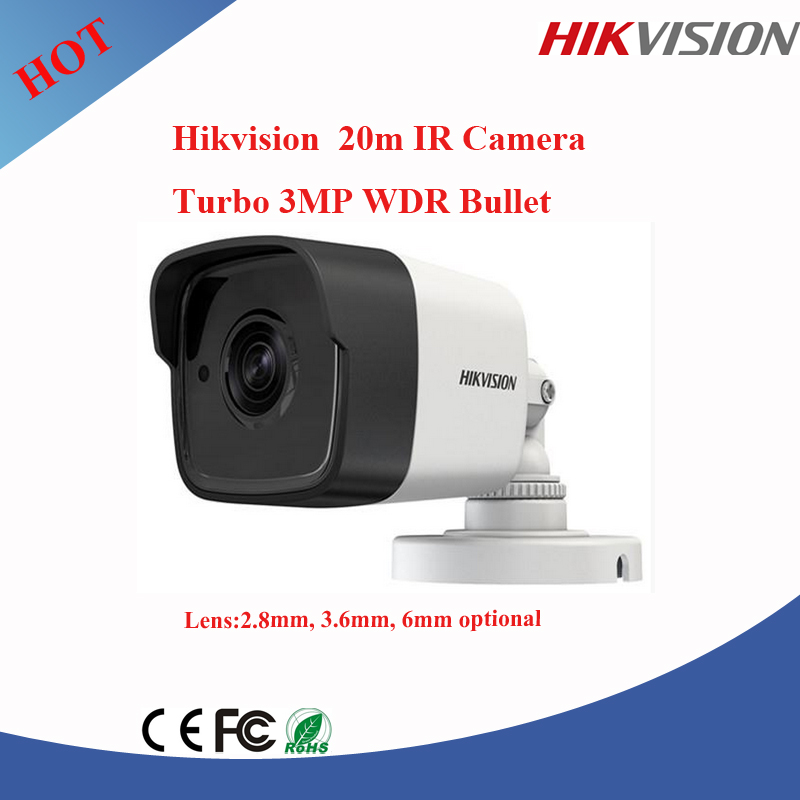 NEWEST Hikvision 3MP tvi bullet camera 40M ir camera ip66 ahd cctv camera DS-2CE56F1T-IT1