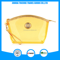 2016 colorful transparent PVC cosmetic bag personalized