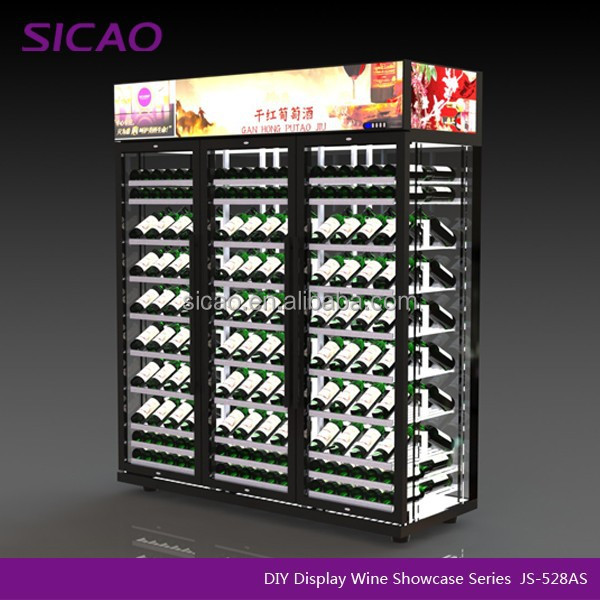 Hohe sicherheit wein oder getrank display kuhlschrank for Hohe kühlschr nke