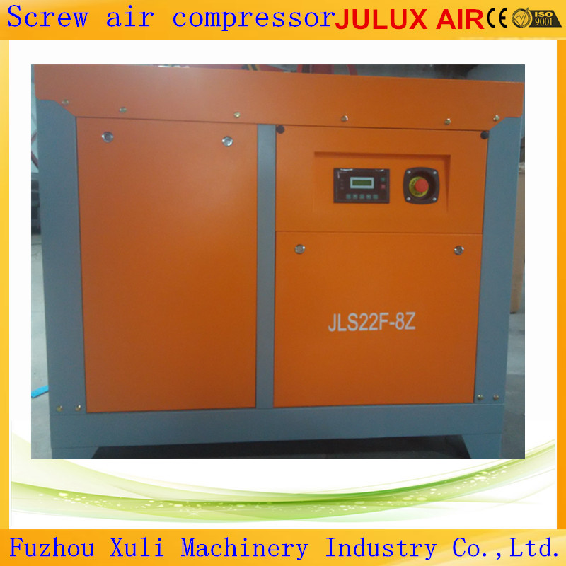 Factory Price Julux Air Brand 15kw 20hp 10 bar 2.0m3/min Screw Air Compressor