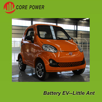 2 Seats Plug Small Electric Vehicle Automobile Mini Car