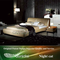 Indian bed design queen size classic furniture---AY256