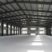 Prefabricated Steel Warehouse With Good Quality