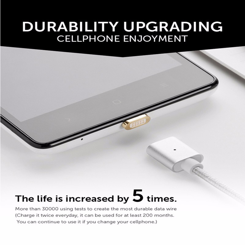 2017 Trending Produkte 2.4A Magnetic Usb-kabel 2 in 1 mit Typ C