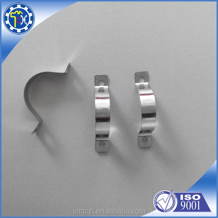 Custom stainless steel stamping tube bracket with high quality