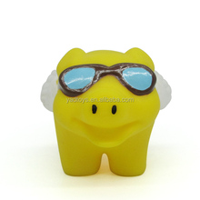 Colorful design Pig toy vinyl figure