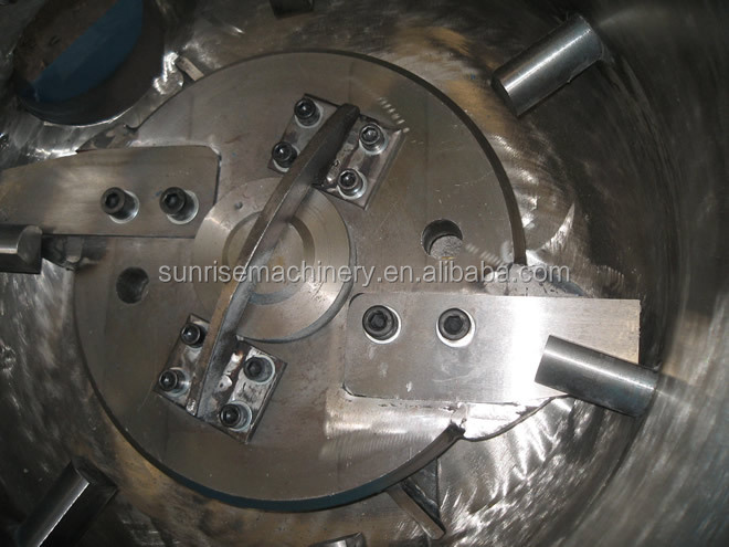 Plastic agglomerator for pp pe granulating machine