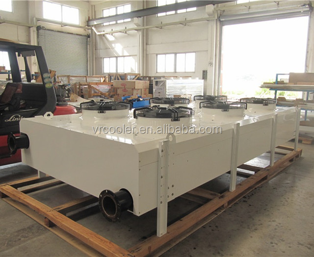 Wet surface air industrial air cooler for cooling tower