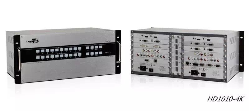 ODM/OEM Seamless Output SDI Output Card Video Matrix Switcher 10x10 Full Seamless Home Control System