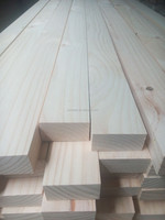 Radiata pine KD S4S wood for construction