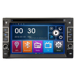 MSTAR2531 6.2'' 2din Universal Car DVD Player with newest Mirror-Link function DK6533