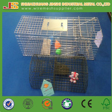 "16""x6""x6"" Galvanized Outdoor Collapsible Live Rabbits Trap Cage"