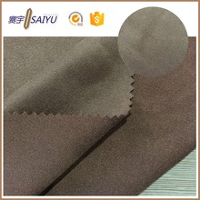 Popular type 100 polyester ultra suede fabric in bulk