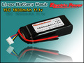 LPB Power 22000mah Lipo Battery for RC Helicopter, High Capacity 11.1V 14.8V 22.2V Lipo Battery